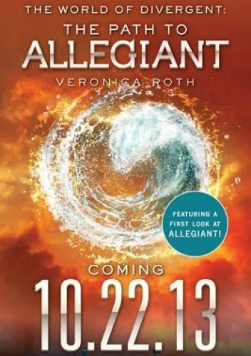 Okladka ksiazki the world of divergent the path to allegiant